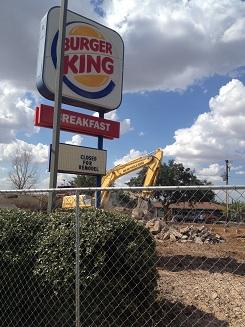 Burger king small